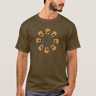 Circle of Acoustic Guitars T-Shirt