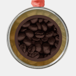 Circle Of Coffee Beans Christmas Ornament