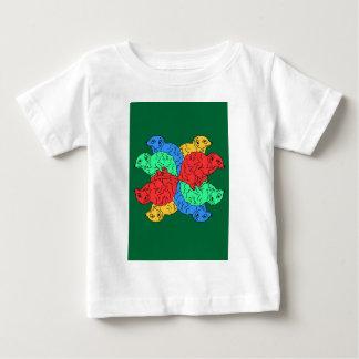 Circle Of Color Green Baby T-Shirt