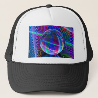 Circle of colour. trucker hat