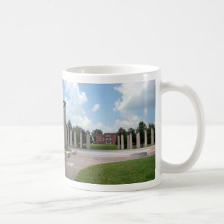 Circle of Columns with Bells Bicentennial Mall Basic White Mug
