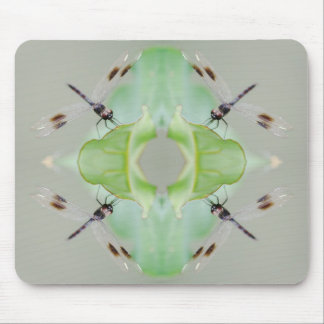 Circle of Dragonflies Mouse Mat