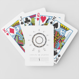 Circle of Fifths Bicycle Playing Cards