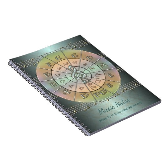 Circle of Fifths Music Journal