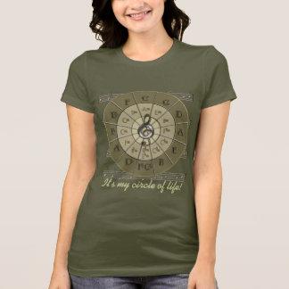 Circle of Fifths Music T-Shirt