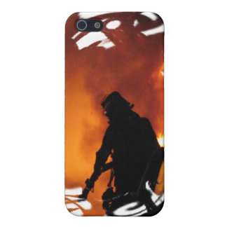 Circle of Flames iPhone 5/5S Covers