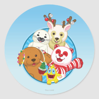 Circle of Friends Classic Round Sticker