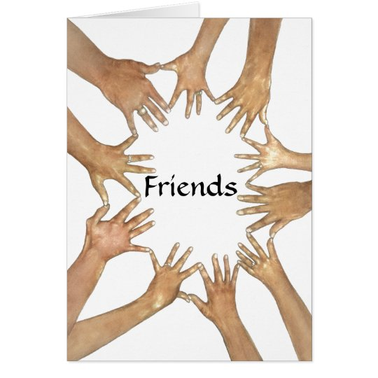Circle of Friends Support Card