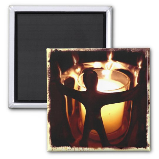 Circle of Friends Votive Candle Retro Filter Magnet