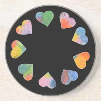 Circle of Hearts Coaster