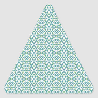 Circle of Hearts Triangle Sticker