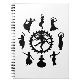 Circle of Indian Dance Notebook