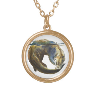 Circle of life 2014 gold plated necklace