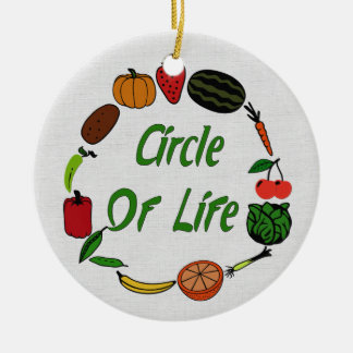 Circle Of Life Christmas Ornament