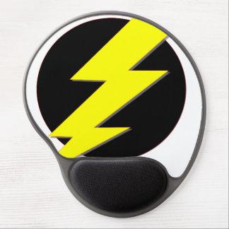 Circle of Lightning Gel Mouse Mat