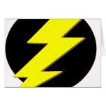 Circle of Lightning Greeting Card