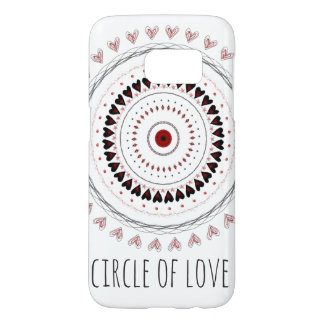 Circle Of Love Phone Case