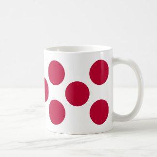 Circle of many day basic white mug