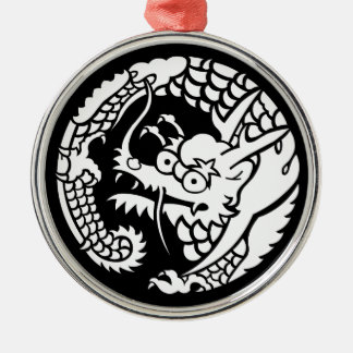 Circle of Nichiren sect dragon Christmas Ornament