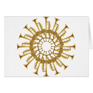 Circle of Trumpets Card