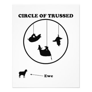 Circle of Trussed Trust Wordplay Flyers