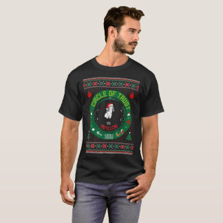 Circle Of Trust My Papillon Christmas Ugly Sweater