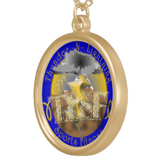 Circle of victory round pendant necklace