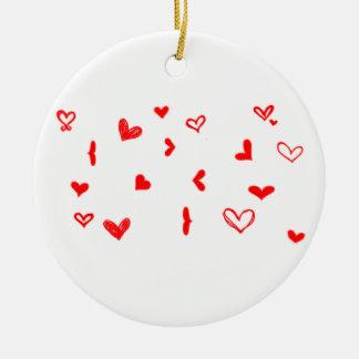 Circle Ornament I LOVE YOU