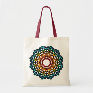 Circle  Ornament Mandala Art, Tote Bag