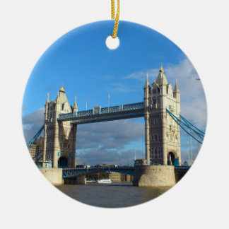 Circle Ornament-Tower Bridge London Christmas Ornament