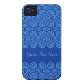 Circle Pattern Blackberry Bold case, customize Case-Mate iPhone 4 Cases