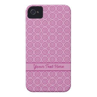 Circle Pattern Blackberry Bold case, customize iPhone 4 Case