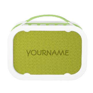 Circle Pattern custom lunch box