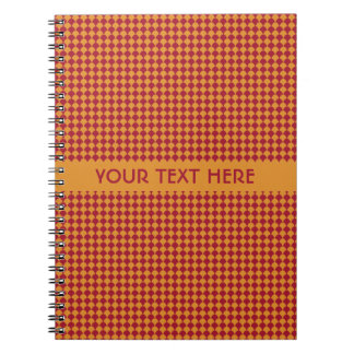 Circle Pattern custom notebook