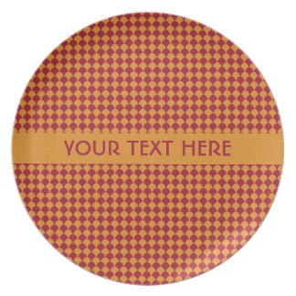 Circle Pattern custom plates