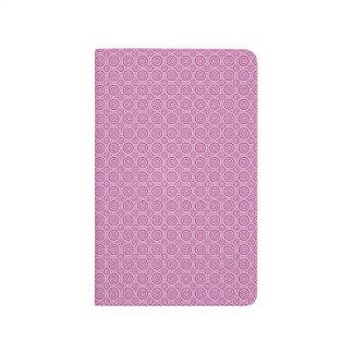 Circle Pattern custom pocket journal