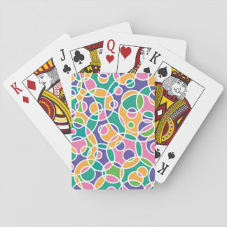 Circle playing card