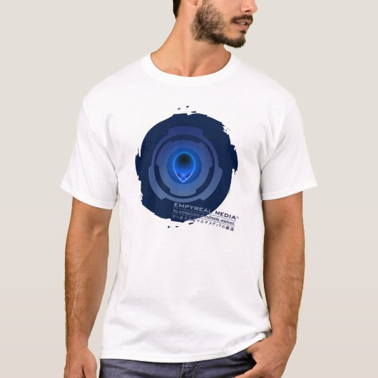 Circle SAW Design T-Shirt