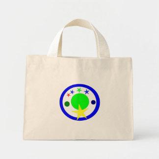 Circle Seal Mini Tote Bag