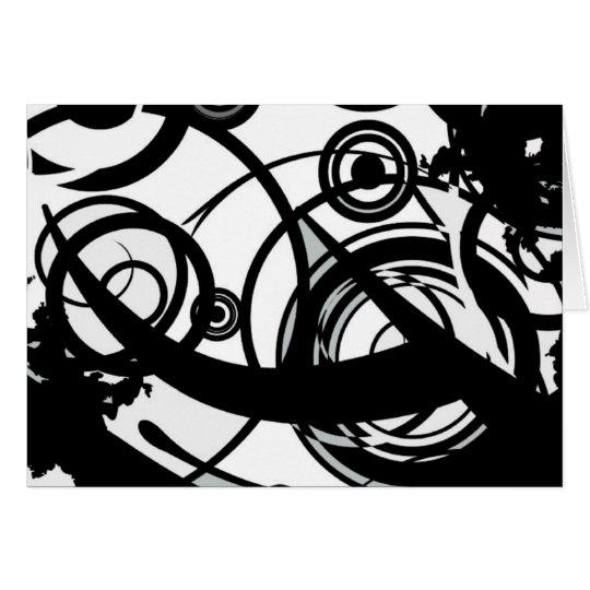 Circle Seven Abstract Card
