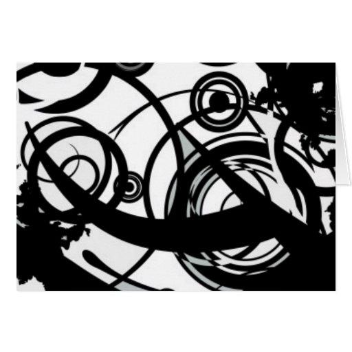 Circle Seven Abstract Greeting Card