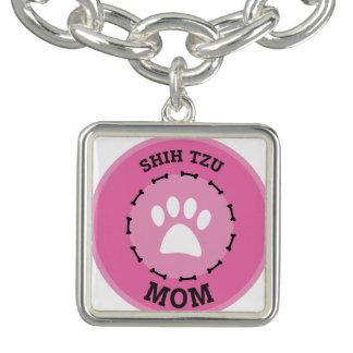 Circle Shih Tzu Mom Badge