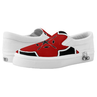 circle slip on shoes