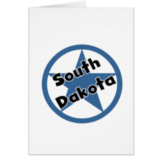 Circle South Dakota Greeting Card