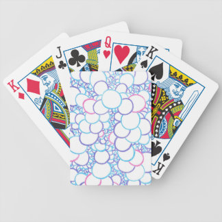 Circle stacks bicycle playing cards