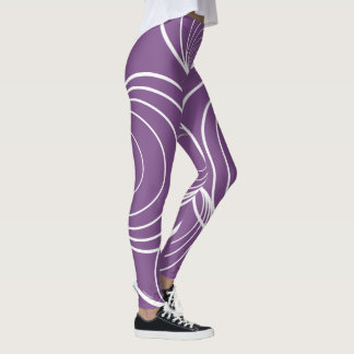 Circle Strip Leggings