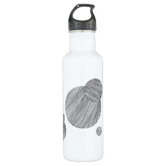 Circle Stripes 710 Ml Water Bottle