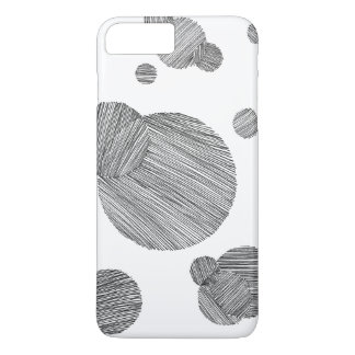 Circle Stripes iPhone 7 Plus Case
