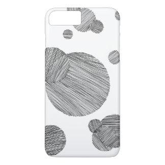 Circle Stripes iPhone 8 Plus/7 Plus Case