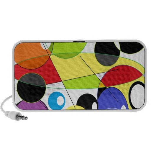 Circle Style Laptop Speaker